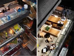 anz office melbourne. anz business centre atrium view colorful modern office space anz melbourne o