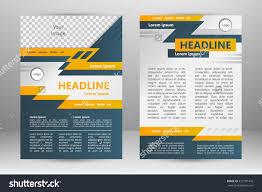 vector flyer template design business brochure stock vector vector flyer template design for business brochure leaflet or magazine cover