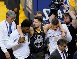 NBA Finals: Klay Thompson tore his ACL ...