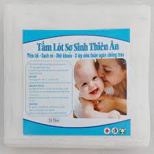 Sale ◙Đồ dùng cho bé Tấm lót sơ sinh Thiên Ân gói 20 tờ rẻ