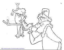 Small Picture How The Grinch Stole Christmas Coloring Pages Free Coloring AZ