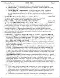 Knock Em Dead Resumes Download Knock Em Dead General Counsel Resume
