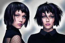 černé Vlasy A Stříbrný Melír Zkuste Melíry Do Tmavých Vlasů