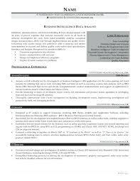 Sample Resume Format Doc Download Professional Business Intelligence Enchanting Data Analyst Sample Resume