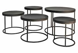 round black coffee table. Round Black Oak Top And Cast Iron Side Table Coffee