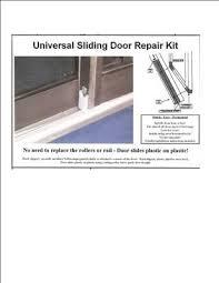 universal sliding door repair repair