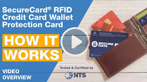 A card you've set up as a default payment method to pay with your digital wallet, select a card for payment and tap or wave your mobile device near the payment terminal. Securecard Rfid Blocker Credit Card Wallet Protection Card