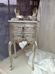 silver painted furniture. Metallic Painted Furniture Silver P