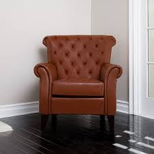 leather chesterfield chair. Best Selling Home Decor Franklin Casual Hazelnut Faux Leather Chesterfield Chair A