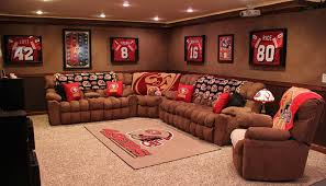Exellent Sports Man Cave Intended Models Ideas