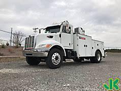 Peterbilt Pickup Trucks And Service Trucks At Auction With JJKane