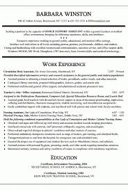 Office Assistant Resume Example Secretary Teacher S Aide Regarding