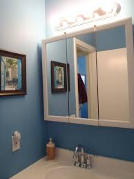 cabinet and lighting. Bathroom Lighting Over Medicine Cabinet Bathrooms Design Best In Cabinets For Small With Above Recessed Fixtures And O