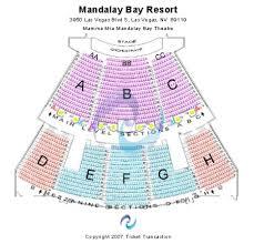 Mandalay Bay Seating Chart View Mandalay Bay Theatre Tickets And Mandalay Bay Theatre