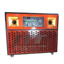 Loa kéo bass đôi 3125 | Loa karaoke di động công suất lớn bass đôi 3 tấc