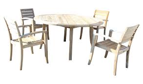 crate barrel outdoor furniture. Crate \u0026 Barrel Teak Patio Table Four Chairs | Chairish Image Of Outdoor Furniture E
