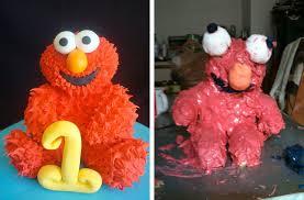 Elmo Cake Mfdt