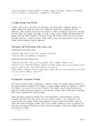Evaluation Examples Essay Performance Appraisal Essay Research