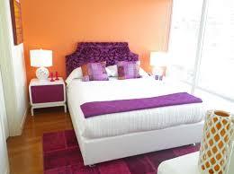 Orange Bedroom Decor Purple And Orange Bedroom
