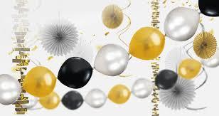 slide balloons garland