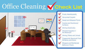 Office Cleaning Check List Mike Thomas Commercial Cleaning Services