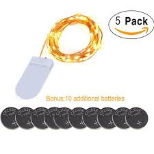 20 Led Lights Battery Operated Buy 5 Sets Battery Powered Christmas Lights 7 78ft 20 Leds