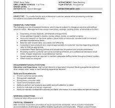 Staff Writer Job Description Template Teller Resume Bank Duties