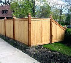 Backyard Fence Designs Backyard Fencing Ideas Wood Backyard Wooden Custom Backyard Fence Designs