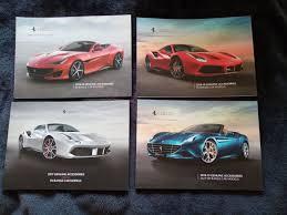 Brochures Catalogues All Ferrari Models 2017 To 2020 Catawiki