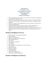 information architect resume olga klimova data warehouse resume