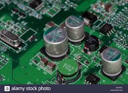 sub system mounted on a printed wiring board integrated stock sub system mounted on a printed wiring board integrated circuits capacitors chip resistors smd coils