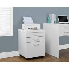 white 3 drawer file cabinet. Perfect File Monarch Specialties Hollow Core White File Cabinet In 3 Drawer