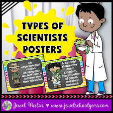 Science Classroom Decorations Types Of Scientists Posters