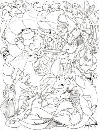 Small Picture Pokemon Coloring Pages All Eevee Evolutions 41592 plaaco