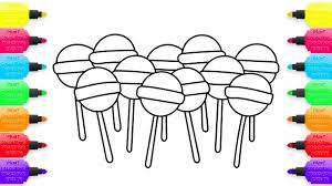 Small Picture How to Draw Lollipop Candies Coloring Pages Sweets Creativity