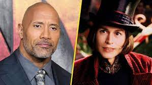 Dwayne Johnson was almost cast as Willy Wonka over Johnny Depp