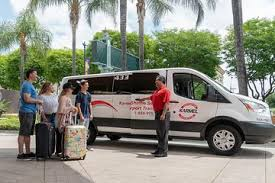 shared airport arrival transfer lax international airport to anaheim buena park or garden grove