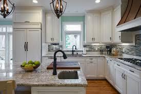 backsplash ideas for gray cabinets grey quartz countertops white light kitchen tile with dark floors walls