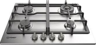 Встраиваемая <b>газовая варочная панель Indesit</b> THP 641 W/IX/I ...