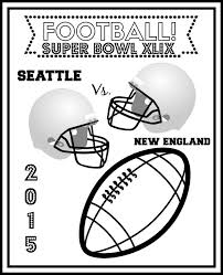 Small Picture Free Super Bowl Coloring Pages and Puzzle for Game Day 2015