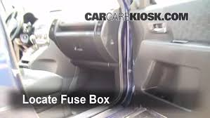 interior fuse box location 2006 2010 mazda 5 2009 mazda 5 sport 2004 Mitsubishi Endeavor Fuse Box locate interior fuse box and remove cover 2004 mitsubishi endeavor fuse box diagram