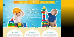 Kids School Website Template Kids Html Template