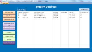 student database template ms access student database template oyle kalakaari co