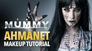 07 56 the mummy ahmanet makeup tutorial