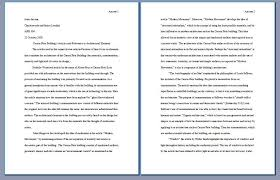 research paper written in first person