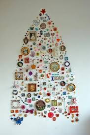 Get The Scent And Feel Of A Real Tree In A Fraction Of The Space Christmas Trees That Hang On The Wall