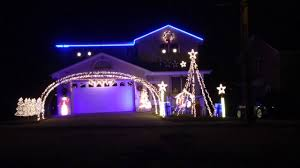 Let It Go Christmas Light Show Let It Go From Frozen Christmas House Light Show