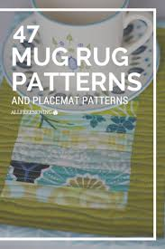 Best 25+ Mug rug patterns ideas on Pinterest | Mug rugs, Mug rug ... & 53 Free Mug Rug Patterns and Placemat Patterns Adamdwight.com