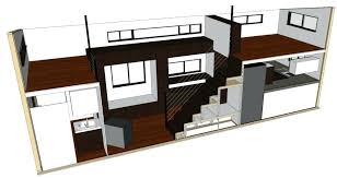 tiny house with two lofts tiny house plans home architectural plans tiny house no loft for