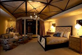 View in gallery Fabulous ceiling and cool lighting fixtures turn this modern  bedroom into an absolute dream